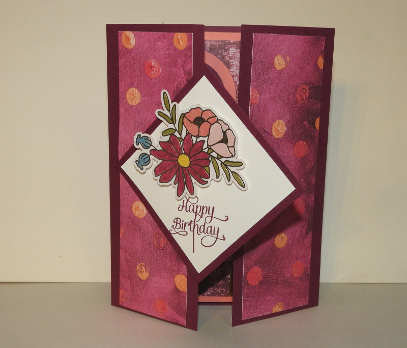 Country Roads Stamping: The wow Birthday Card